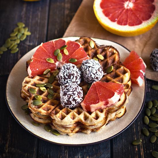 healthy pancakes waffles